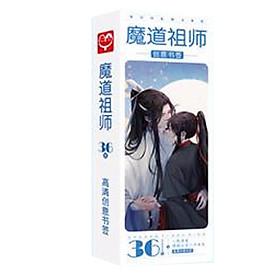 Bookmark Ma đạo tổ sư hộp ảnh bookmark Lam Vong Cơ Ngụy Vô tiện tặng hình Vcone