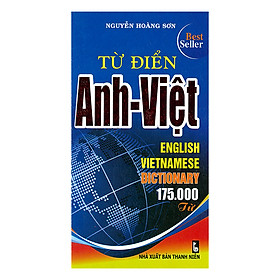 [Download sách] Từ Điển Anh - Việt 175.000 Từ
