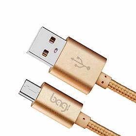 Dây dù sạc nhanh Micro USB Samsung Bagi CB-MS10 - Chính hãng