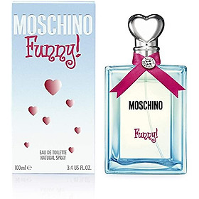 Dầu Thơm Moschino I Love Eau De Toilette Spray For Women, 3.4 Fluid Ounce