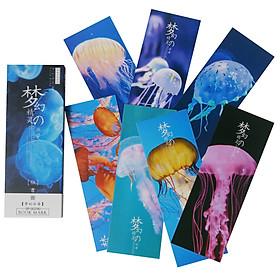 Hộp 32 Bookmark Đánh Dấu Sách Sứa Biển