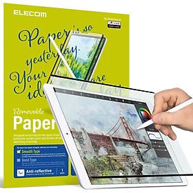 Miếng dán màn hình Dán màn hình iPad Air 2020/Pro 2020, loại trơn ELECOM TB-APS109-W size 10.9 - Hàng chính hãng