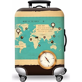 Túi bọc bảo vệ vali cao cấp + tặng 01 túi đựng giày chống thấm