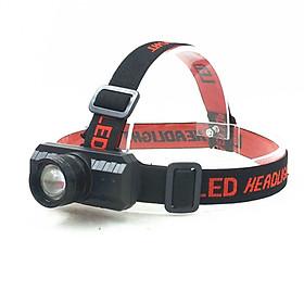Đèn Pin Đội Đầu Headlamp Chiếu Sáng Xa Tích Hợp Cổng Sạc USB