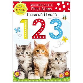 Trace And Learn 123: Scholastic Early Learners (Trace and Learn)