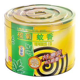 Nhang Muỗi Aster Chrysanthemum (40 Cái)