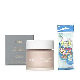 Kem Dưỡng Da Dưỡng Ẩm, Ngăn Ngừa Lão Hoá Vùng Da Mắt Huxley Eye Cream; Concentrate On 30ml + Tặng kèm 1 túi lưới rửa mặt tạo bọt