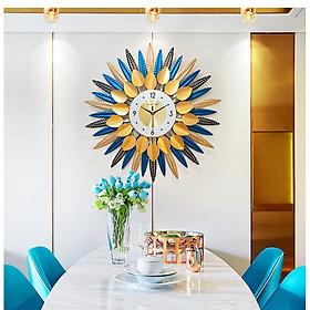 Đồng hồ treo tường trang trí B7 Đồng hồ chim công Đồng hồ Đồng hồ treo tường Đồng hồ trang trí