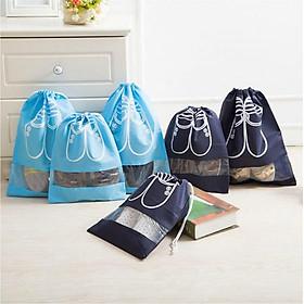 Combo Bộ 6 Túi Đựng Giày Vải Không Dệt