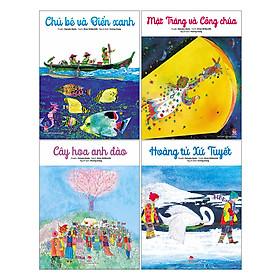 Combo Mặt Trăng Và Công chúa + Hoàng Tử Xứ Tuyết + Cây Hoa Anh Đào + Chú Bé Và Biển Xanh (4 Cuốn)
