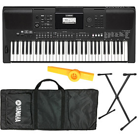 Bộ Đàn Organ Yamaha PSR-E463 (Keyboard PSR E463 - Có Tem Chống Hàng Giả Bộ CA - Đàn, Chân, Bao, Nguồn, Kèn Kazoo)