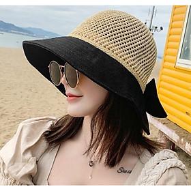 Nón rộng vành gấp gọn chống nắng phong cách Hàn Quốc dn20092401