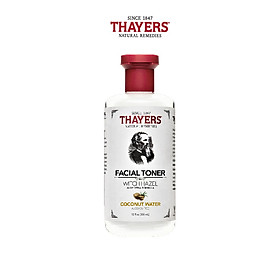Nước hoa hồng không cồn (Toner) THAYERS - Hương nước dừa 355ml