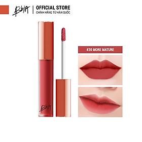 Son kem lì Bbia Last Velvet Lip Tint - 20 More Mature 5g (Màu hồng đỏ đất)