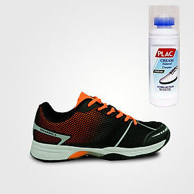 Giày tennis Nam Jogarbolar chính hãng (màu đen) - Tặng bình làm sạch giày cao cấp