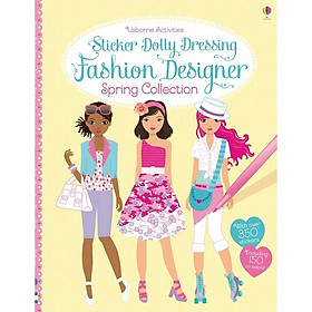 Usborne Sticker Dolly Dressing: Fashion Designer Spring Collection