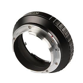 Ai F Lens To Leica M Mount Camera Adapter Metal Camera Accessories For Nikon