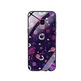 Ốp Lưng Kính Cường Lực cho điện thoại Samsung Galaxy S9 - 0343 SOLARSYSTEM03