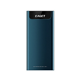 EAGET M2 Type-C USB3.1 Portable SSD 1TB Portable Solid State Drive High Speed Portable SSD for Mobile Phone Laptop PC