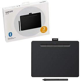 Bảng Vẽ Đồ Họa Điện Tử Wacom Intuos M CTL 6100WL Hỗ Trợ Kết Nối Bluetooth Sử Dụng Bút Không Pin Với Công Nghệ EMR 4096 Lực Nhấn - Hàng Chính Hãng