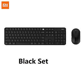 Bộ bàn phím & chuột không dây Xiaomi Ecological Chain MIIIW 104 Phím 2.4GHz  Bàn phím USB Chuột thiết kế chống trượt  cho văn phòng