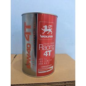 Nhớt Wolver Racing 4T 10w40 0.8ml va 1L