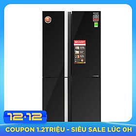 Tủ Lạnh Inverter Sharp SJ-FX688VG-BK (605L) - Hàng Chính Hãng