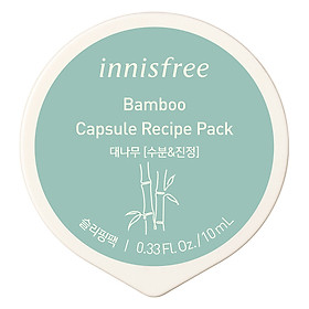 Mặt Nạ Ngủ Dạng Hủ Từ Tre Innisfree Capsule Recipe Pack Bamboo (10ml) - 131170955
