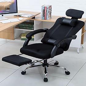 Ghế ngồi máy tính có chân xoay, ghế làm việc văn phòng tùy chỉnh độ cao
