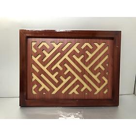 Tấm chống ám khói khung gỗ sồi - TL01
