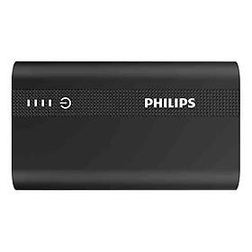 Pin Sạc Dự Phòng Tích Hợp Cổng USB-C Philips DLP2101QBK 10000mAh QC 3.0 - Hàng Chính Hãng