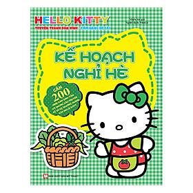 [Download Sách] Hello Kitty - Kế Hoạch Nghỉ Hè (Dán Hình)