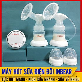 Máy Hút Sữa Điện Đôi Inbear Extra (IBE-9100), 9 Cấp Độ Hút Mạnh, 6 Cấp Độ Matxa Êm Ái, Giúp Kích Sữa Về Đều, Vắt Sữa Nhanh Cho Mẹ Sau Sinh
