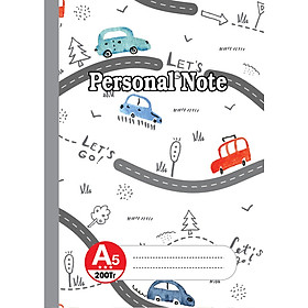 Lốc Sổ may gáy A6 - A5 Personal Note (PSN)