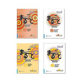 Bộ giáo trình học tiếng Nhật Marugoto theo chuẩn JK - Trình độ Sơ cấp (Hoạt động giao tiếp và Hiểu biết ngôn ngữ)