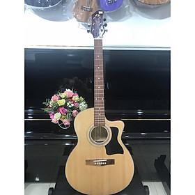 Đàn guitar Acoustic MKAC950, thùng eo, màu vân gỗ, Việt Nam, bao da 2 lớp, bộ dây dự phòng