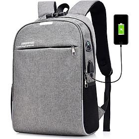 Balo Đi Học Chống Trộm Cực Hót ( Tặng kèm Khóa số, Cáp Sạc USB, Lỗ tai nghe tiện lợi ) - BL85