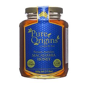 Mật Ong Macadamia 500g-PURE ORIGINS