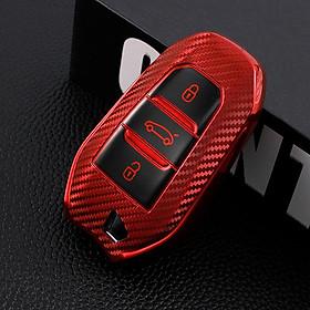 Soft Tpu Car Smart  Key  Case Full Cover Shell For Peugeot 308 408 508 2008 3008 4008 5008 Citroen C4 C4l C6 C3-xr