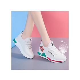 Giày sneaker thể thao nữ buộc dây phong cách hàn quốc màu đen, trắng size 36 đến 40 V179
