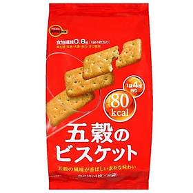 Combo 2 gói Bánh quy Bourbon vị Ngũ cốc 133gr (32 bánh)