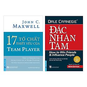 Combo 17 Tố Chất Thiết Yếu Của Team Player + Đắc Nhân tâm