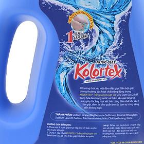 Nước Giặt Kolortex Trắng Sáng Tuyệt Vời Siêu Đậm Đặc 2X (2.8 Lít)