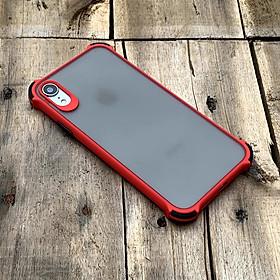 Ốp lưng chống sốc toàn phần dành cho iPhone XR - Màu đỏ