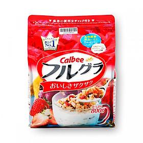 Ngũ cốc hoa quả Calbee Furugura Nhật Bản - Nhập khẩu chính hãng
