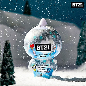BTS BT21 Official Goods Collectible Figure Blind Pack Vol4 Winter Series