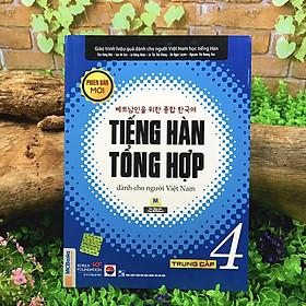 Sách - Tiếng Hàn Tổng Hợp Dành Cho Người Việt Nam - Phiên Bản Mới (12 quyển lẻ tùy chọn)