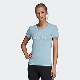 Áo Thun Thể Thao Nữ Adidas App Emblem Tee 060619