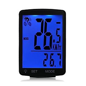 Màn Hình LCD Đo Tốc Độ Chống Nước Gắn Xe Đạp (2.8Inch)
