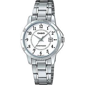 Đồng hồ nữ dây kim loại Casio LTP-V004D-7BUDF